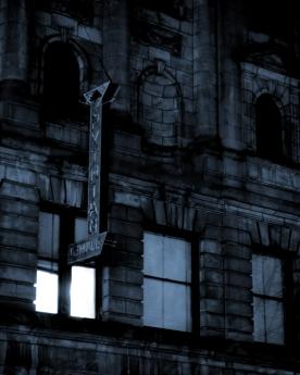 "Photograph from ""Blue Midnight"" series by Victoria Bjorklund."