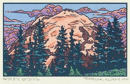 """Alpenglow"" by Chandler O'Leary."