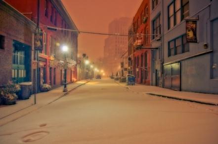 """I Heard the Snow Falling"" by Peter Serko."