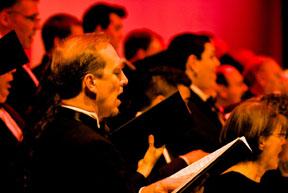 Tacoma Symphony Orchestra Chorus performs