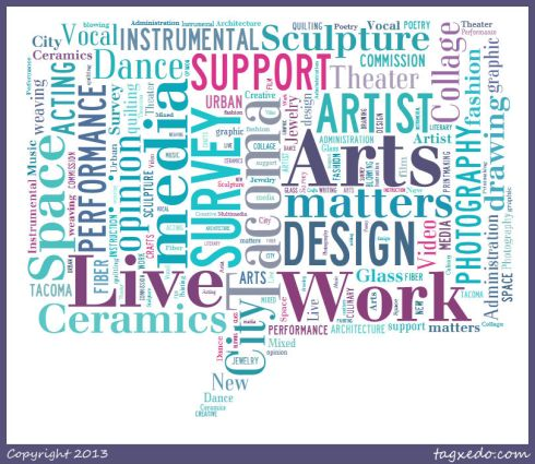 Click here for the Tacoma Artist Live/Work Survey