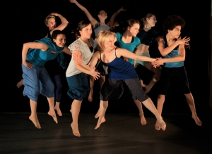 the BareFoot Collective will  be dancing us into Art at Work Month. Photo by Michael Hoover.