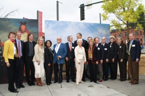 Groundbreaking of the Tacoma Art Museum's new wing. Photo courtesy of Tacoma Art Museum