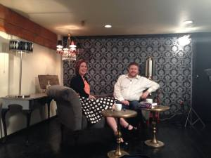 Authors Marissa Meyer and Erik Hanberg chat in the Artist 2 Artist segment on 'artTown'