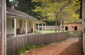 Fort Nisqually invites visitors to step back in time. Photo by Dane Gregory Meyer.