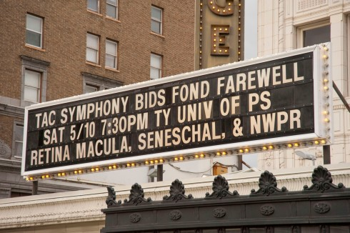 Marquee billing Tacoma Symphony Bids Fond Farewell to their Maestro of 20 years, Harvey Felder.