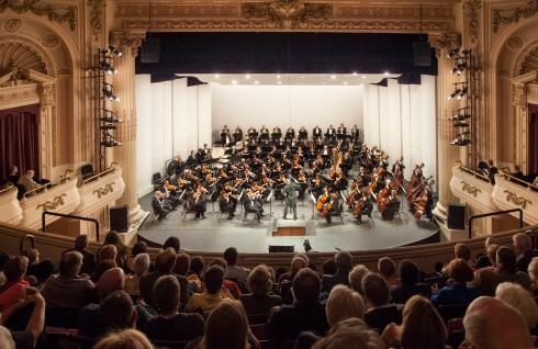 Tacoma Symphony Orchestra performs Mahler, Symphony #5.