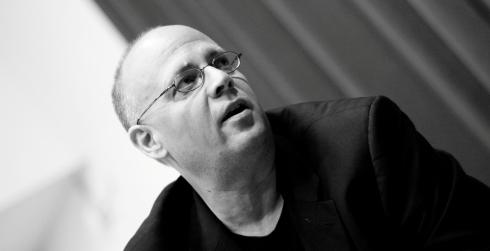 Tacoma Poet Laureate Lucas Smiraldo. Photo by Jesse Michener