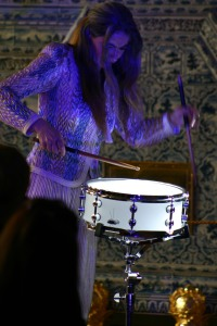 World-renown percussionist Dame Evelyn Glennie. Photo by James Wilson.