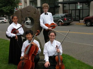 Tacoma Youth Symphony string ensemble