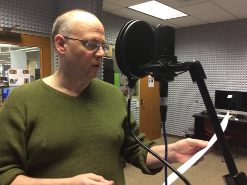 2013-15 Tacoma Poet Laureate Lucas Smiraldo records a poem for the Laureate Listening Project.