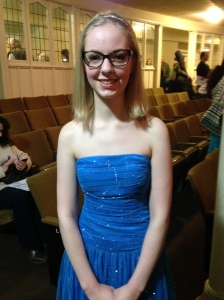 Tacoma Young Artists Orchestra student soloist, Claire Turner.