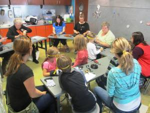 Children's Museum of Tacoma presents a wire workshop for families. Photo provided by Children's Museum of Tacoma.
