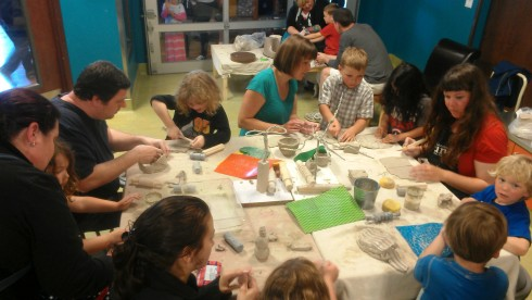 Arts Projects funding helps support hands-on arts programming at the Children's Museum of Tacoma. Photo courtesy of Children's Museum of Tacoma.