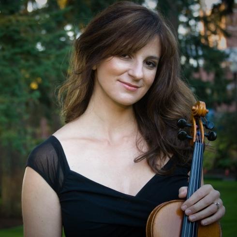 Maria Sampen, violinist