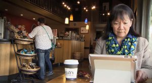 Aya Hashiguchi of Dukesbay Productions draws inspiration from her daily coffee