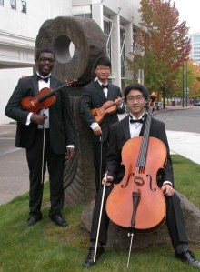 Tacoma Youth Symphony string trio